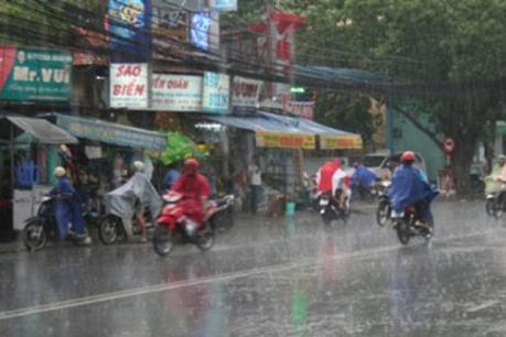 Dự báo thời tiết 28/9: Các khu vực trong cả nước đều có mưa và dông về chiều tối và đêm