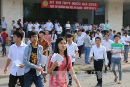 Chính thức công bố Phương án tổ chức kỳ thi THPT quốc gia năm 2017
