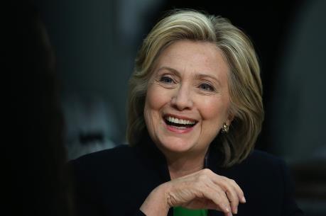 Bầu cử Mỹ 2016: Quỹ vận động tranh cử của bà Hillary Clinton đạt số tiền kỷ lục