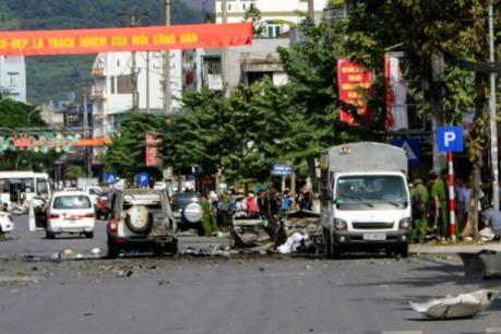Xác định nguyên nhân ban đầu của vụ nổ taxi ở Cẩm Phả
