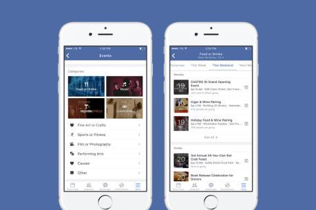 Facebook ra ứng dụng Events cho iPhone, iPad