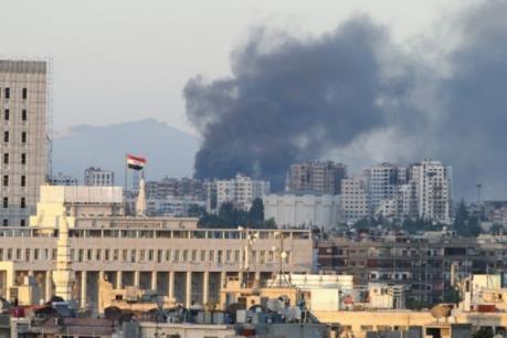 Đại Sứ quán Nga ở Syria bị nã đạn cối