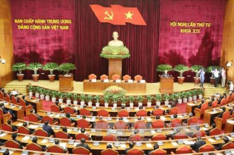 Bế mạc Hội nghị lần thứ tư Ban Chấp hành Trung ương Đảng khóa XII