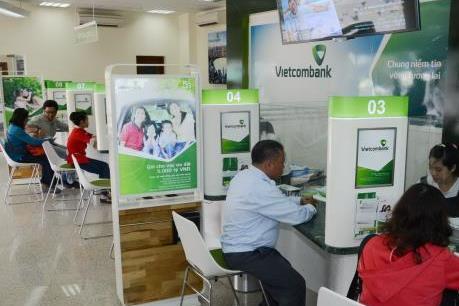 Tháng 1, vốn huy động của Vietcombank tăng 23%