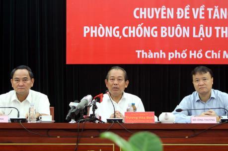 Phó Thủ tướng Trương Hòa Bình: Cần xác định chống buôn lậu thuốc lá là nhiệm vụ trọng tâm