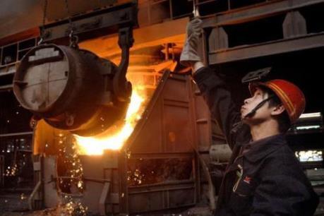 Trung Quốc cắt giảm 7,19 triệu tấn thép trong tháng 10/2016