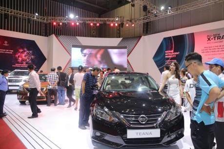 Nissan Việt Nam trình làng sedan Teana nhập khẩu nguyên chiếc từ Mỹ