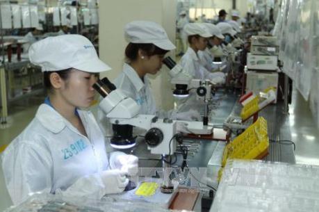 Vốn đăng ký của các dự án FDI vào Việt Nam giảm nhẹ