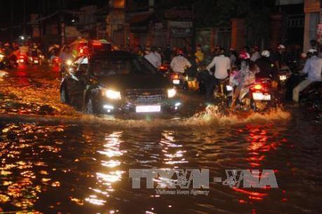 Tp Hồ Chí Minh: Thông tin về các điểm ngập nước qua điện thoại di động