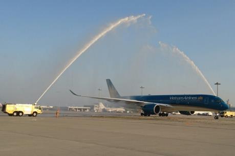 Vietnam Airlines đưa siêu máy bay A350 vào khai thác trên tuyến bay HCM - Osaka