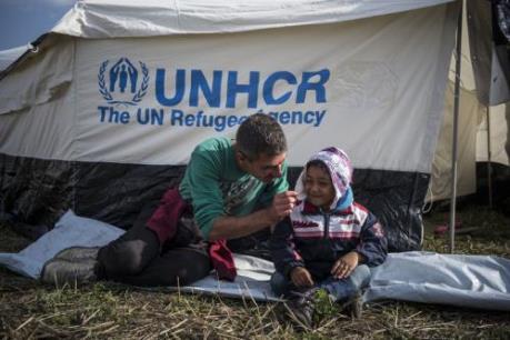 UNHCR tăng mạnh quỹ hỗ trợ người tị nạn