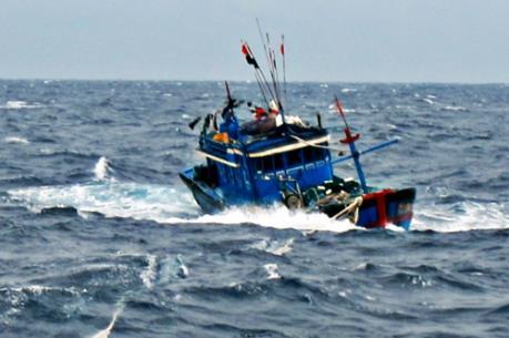 Kêu gọi cứu nạn khẩn cấp tàu cá BĐ96973-TS trôi dạt trên biển