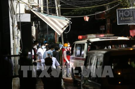 13 người tử vong trong vụ cháy lớn trên phố Trần Thái Tông