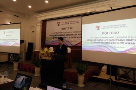 Tăng năng lực cạnh tranh xuất khẩu sang các nước ASEAN
