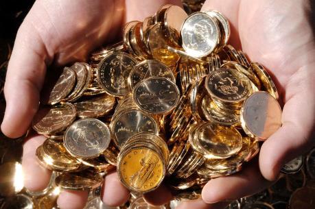 Giá vàng chiều 2/11 tăng thẳng đứng lên 36,62 triệu đồng/lượng