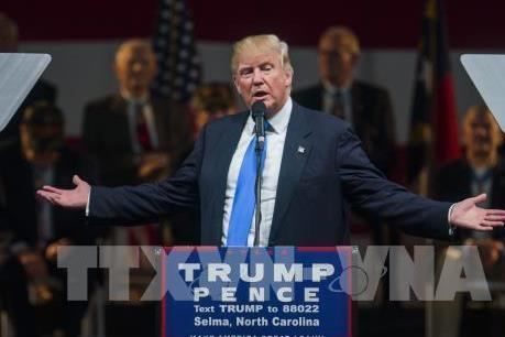 Bầu cử Mỹ 2016: Tỷ phú D.Trump duy trì thế dẫn trước