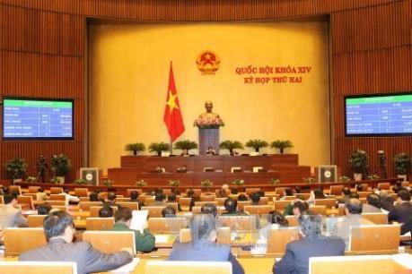 Kỳ họp thứ 2 Quốc hội khóa XIV: Thông qua Nghị quyết về kế hoạch tài chính 5 năm