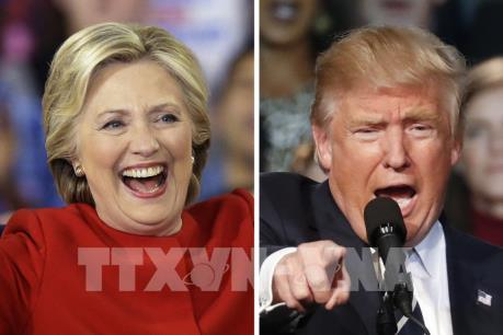 Bầu cử Mỹ 2016: Bà H.Clinton vượt lên dẫn trước