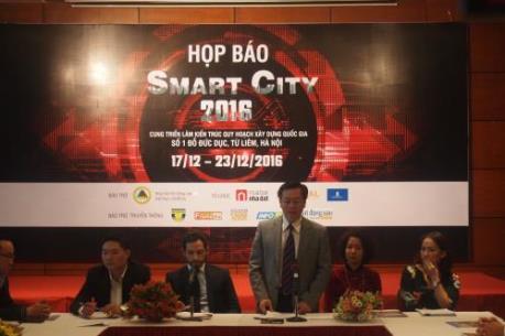 Sắp diễn ra sự kiện Smart City 2016 - Tuần lễ Nhà và Công nghệ