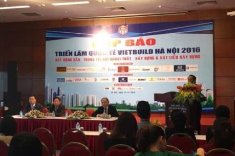 1.350 gian hàng tham dự Triển lãm Quốc tế Vietbuild Hà Nội 2016