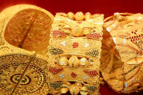 Giá vàng tăng giảm không đồng nhất phiên đầu tuần