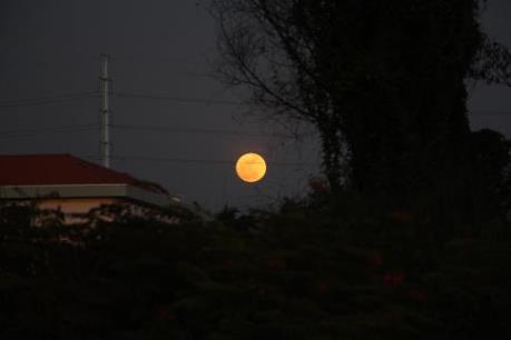 Ảnh đẹp siêu mặt trăng lớn nhất thế kỷ tại Việt Nam