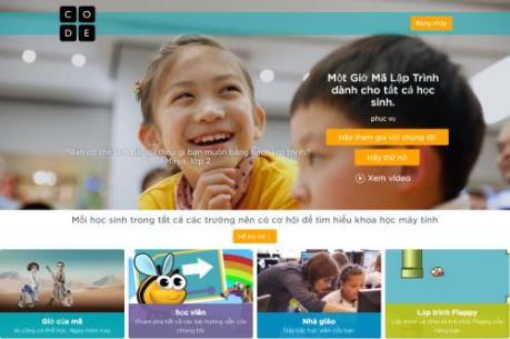Công cụ miễn phí giúp trẻ em trên 6 tuổi học lập trình