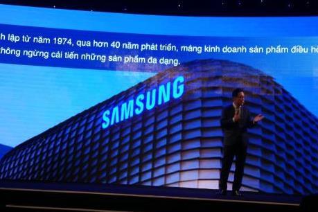 Samsung giới thiệu nhiều hệ thống điều hòa không khí hiện đại
