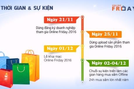 Sẽ có nhiều cơ hội mua sắm trực tuyến vào ngày 2/12