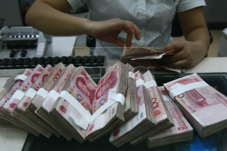 Tỷ giá đồng Nhân dân tệ giảm xuống mức thấp nhất trong hơn 8 năm
