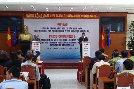 """""""Giấy thông hành"""" cho gỗ Việt Nam vào EU"""