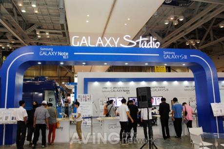 Samsung ra mắt Galaxy Studio lần đầu tiên tại  Hà Nội