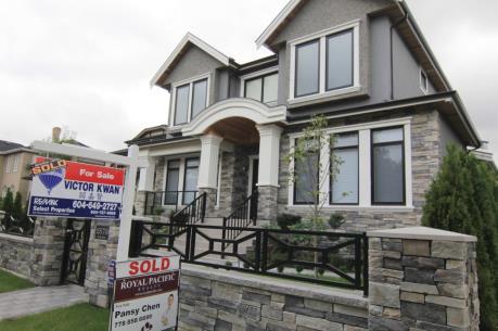 Giá nhà đất ở Canada lập kỷ lục mới