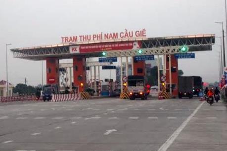 Chính thức thu phí dự án BOT tuyến tránh Hà Nam từ ngày 24/11