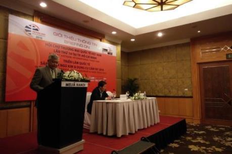 520 doanh nghiệp sẽ tham gia Hội chợ Vietnam Expo 2016