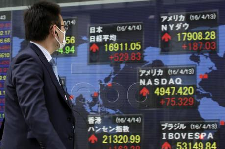Các thị trường chứng khoán châu Á cùng trong xu hướng tăng điểm mạnh