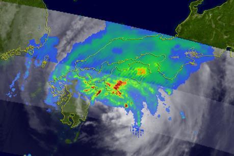 Áp thấp nhiệt đới mạnh lên thành bão Tokage