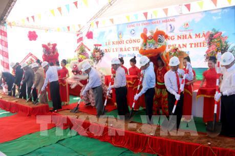 Bình Thuận xây dựng nhà máy xử lý rác thải đầu tiên