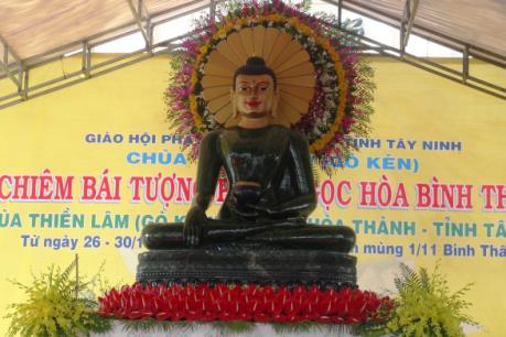 Chiêm bái tượng Phật ngọc thạch lớn nhất thế giới