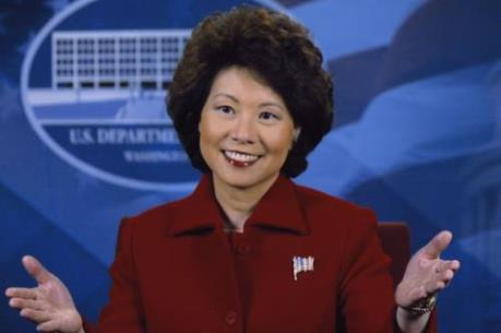 Tổng thống đắc cử Mỹ D.Trump chọn bà Elaine Chao làm Bộ trưởng Giao thông