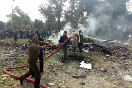 Rơi trực thăng quân sự tại Ấn Độ, 3 sĩ quan thiệt mạng