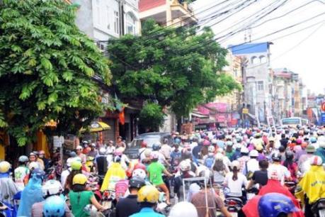Hà Nội trao thưởng hơn 6 tỷ đồng cho các phương án chống ùn tắc giao thông