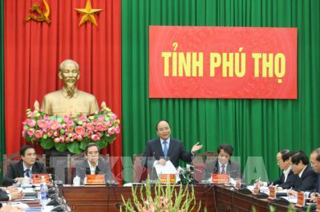 Thủ tướng Nguyễn Xuân Phúc:  Xây dựng Việt Trì trở thành thành phố Lễ hội về nguồn