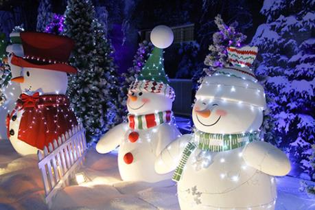 Những điểm vui chơi thú vị tại Sài gòn trong dịp Giáng Sinh