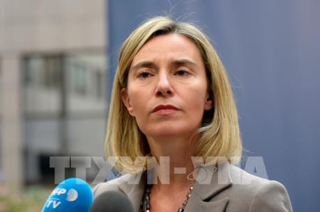 EU không có ý định trừng phạt Nga liên quan đến cuộc xung đột Syria