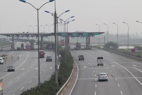 Thử nghiệm thu phí tuyến cao tốc Pháp Vân - Cầu Giẽ - Ninh Bình