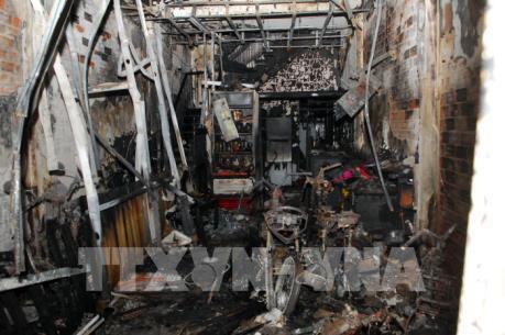 Hỏa hoạn nghiêm trọng tại TP.HCM khiến 11 người thương vong