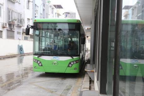 Lộ trình và phương án phân làn tuyến buýt nhanh BRT từ 1/1/2017