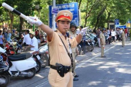 Mở đợt cao điểm bảo đảm trật tự an toàn giao thông dịp Tết