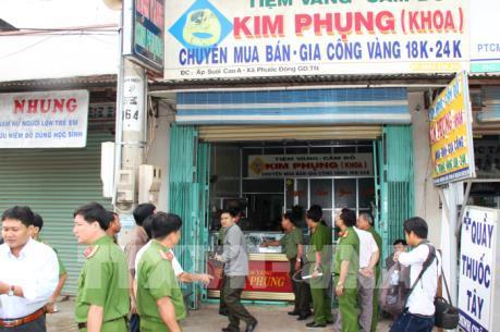 2 nghi can cuối cùng trong vụ cướp tiệm vàng táo tợn tại Tây Ninh ra đầu thú